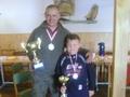 2009 Liga powiatowa - 1 miejsce dorosłych Andrzej Duda, 1 miejsce Junior Radosław Zieliński zdjecia-zawody-366